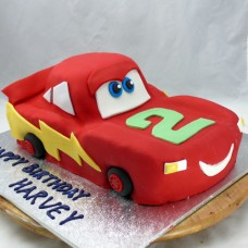 Car - Lightning Mcqueen Car Cake (D)