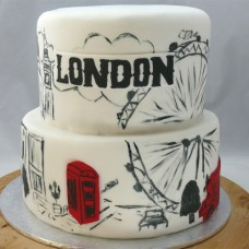 Countries - London Cake (D,V)