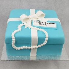 Gift Box - Tiffany Gift Box Cake (D,V)