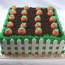 Food - Vegetable Patch Cake (D, V)