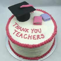 Graduation Thank You Cake (D,V)