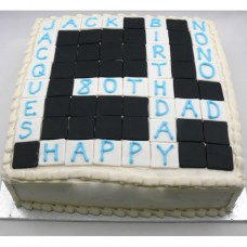 Crossword Cake (D, V)