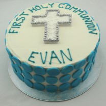 First Holy Communion Cake Buttercream (D,V)