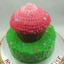 Giant Cupcake in the Garden (D)