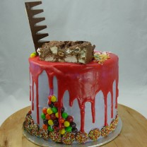 Drip Sweets Cake (chocolates contain NUTS)