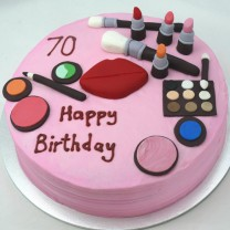 Girlie Makeup Cake (D,V)