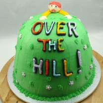 Over The Hill Birthday Cake (D)