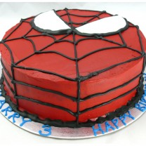 Superheroes: Spiderman Face Cake (D,V)