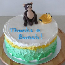 Thanks a Bunch Cake (D, V)