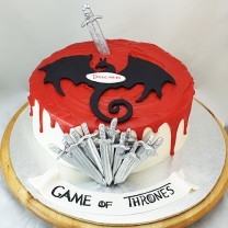 Game of Thrones Cake (D, V)