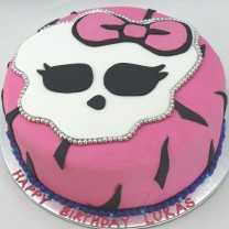 Monster High Cake (D,V)