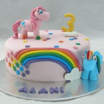 My Little Pony Cake (D,V)