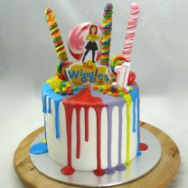Wiggles Cake (D)