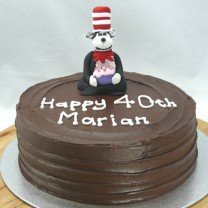 Cat in the Hat Cake (D, V)