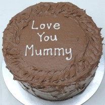 Mother's Day: Chocolate Buttercream Wave Cake (D, V)