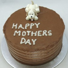 Mother's Day: Chocolate Buttercream & Small Dog (D, V)