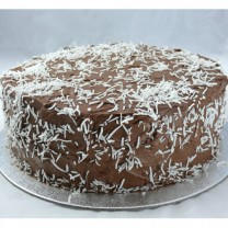 Chocolate Buttercream with Coconut Cake (D, V)