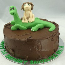 Arlo and Spot - The Good Dinosaur Cake (D, V)