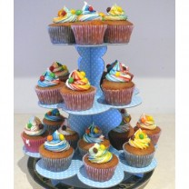 CupCakes Skittles with Rainbow Tinted Icing ($45 per dozen)