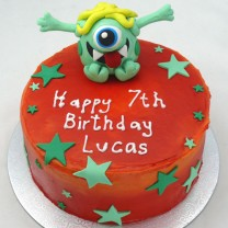 Alien on Buttercream (D, V)