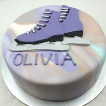 Ice Skating Shoes Cake (D,V)