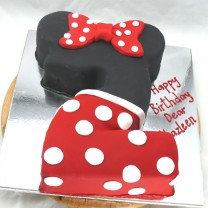 Minnie Mouse Number 2 Cake (D)