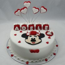 Minnie Mouse Cake (D,V)