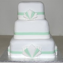 Wedding Cake Art Deco (D)