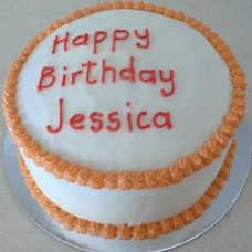 Buttercream Icing with Rosette Border (D, V)
