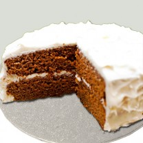 Design your own cake: Carrot Cake with Cream Cheese Icing