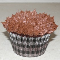 CupCakes with Chocolate Buttercream ($35 per dozen) (D, V)
