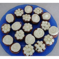 CupCakes: Carrot Cake with Cream Cheese Icing ($40 per dozen)