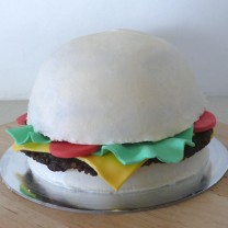 Hamburger Cake 8""