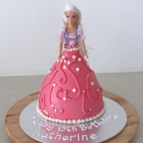Princess Cake:  Buttercream Skirt (D)