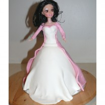 Princess Cake: Fondant Covered (D)