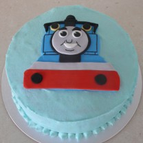 Thomas the Tank Engine Flat Topper Cake (D, V)