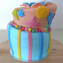 Topsy Turvy (Mad Hatter) Cake (D)
