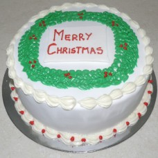 Christmas Wreath Cake (D, V)